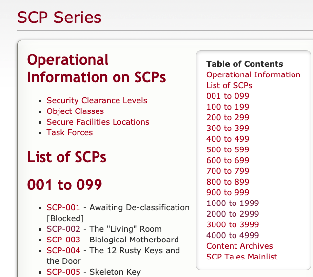 Classifying Scps Part 1 Building A Web Crawler Grip On Math Music And Programming Scp stands for either special containment procedures or secure, contain, protect, which is the scp foundations motto. web crawler